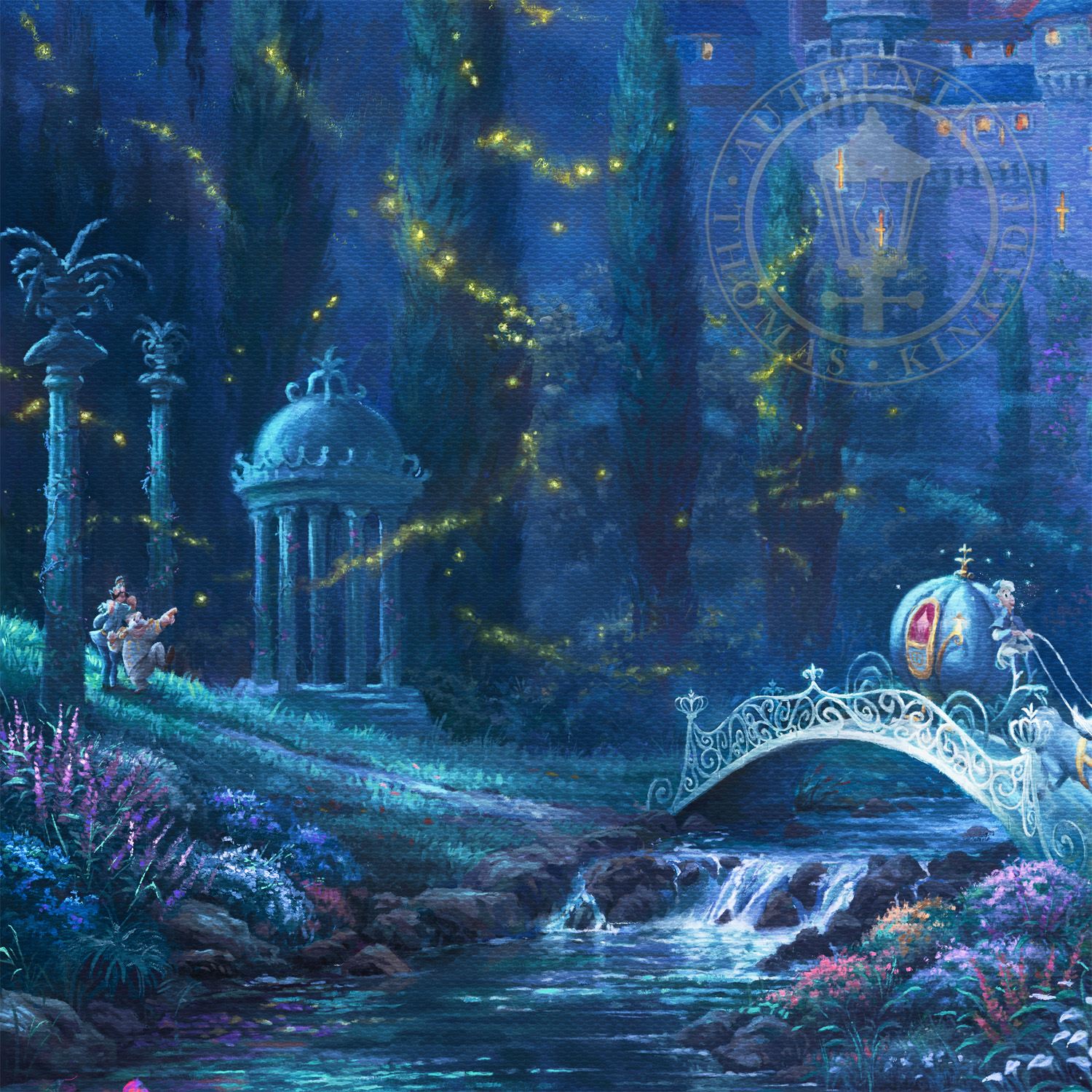 Animated Barbie Wallpaper Cinderella Dancing In The Starlight Limited Edition Art