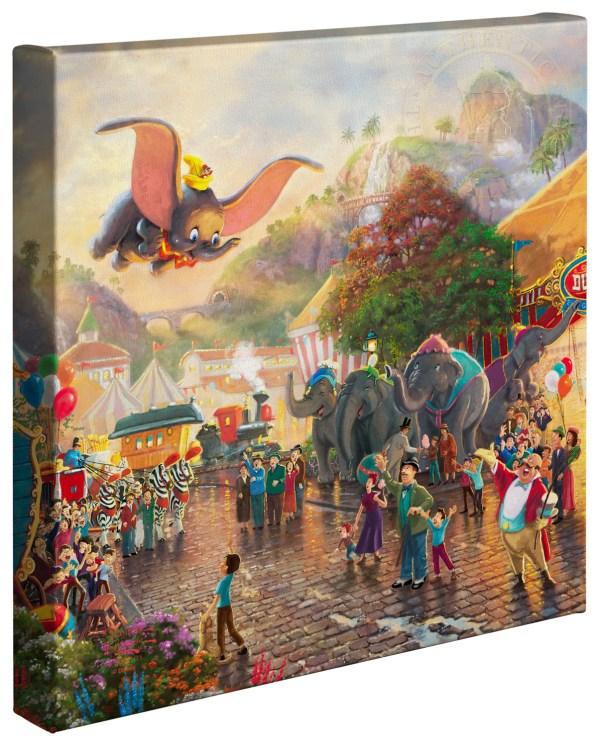 "Disney Dumbo - 14"" X Wrapped Canvas Thomas"