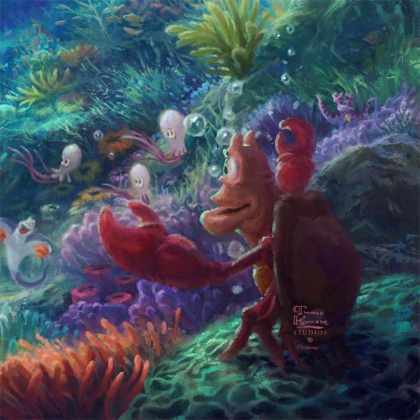Little Mermaid Falling In Love - Limited Edition Art