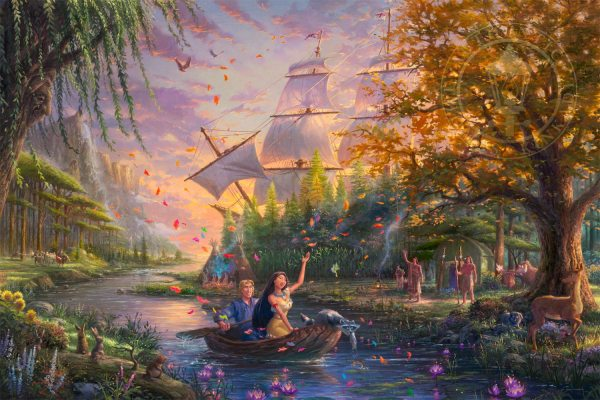 Pocahontas - Limited Edition Art Thomas Kinkade