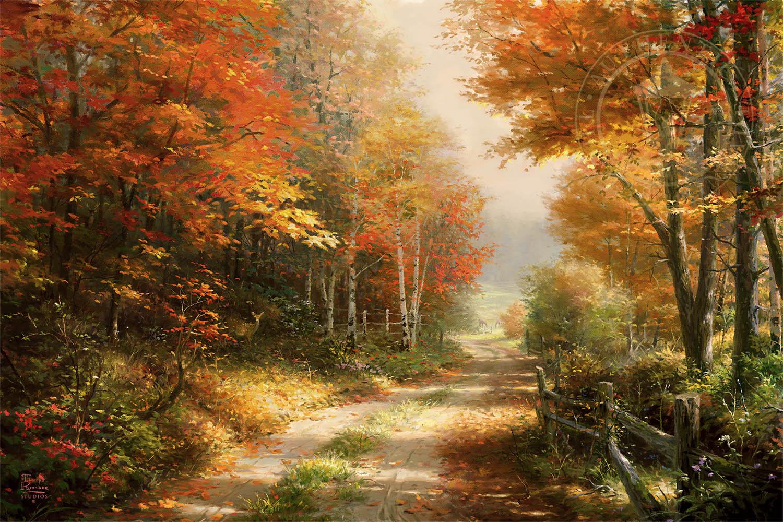 A Walk Down Autumn Lane