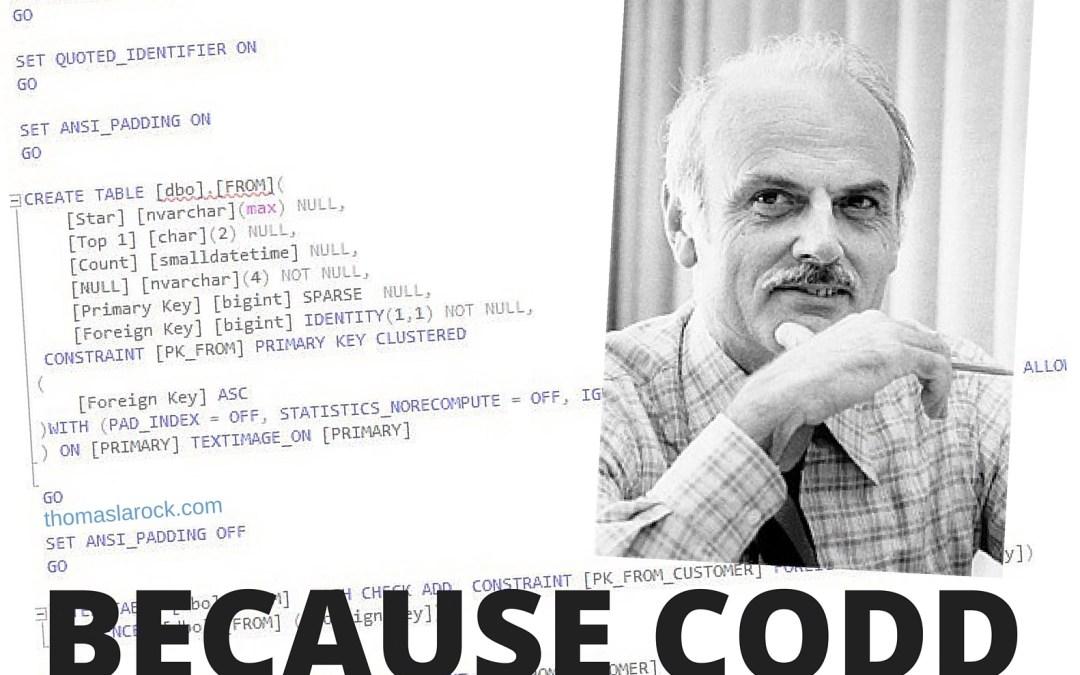 Advanced Accidental Database Design
