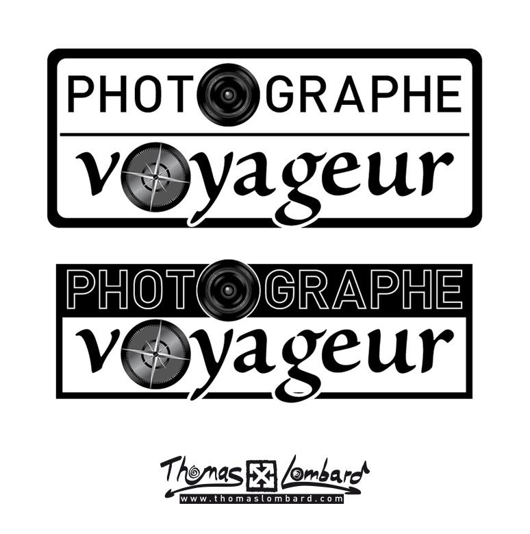 proposition de logo pour Photographe Voyageur