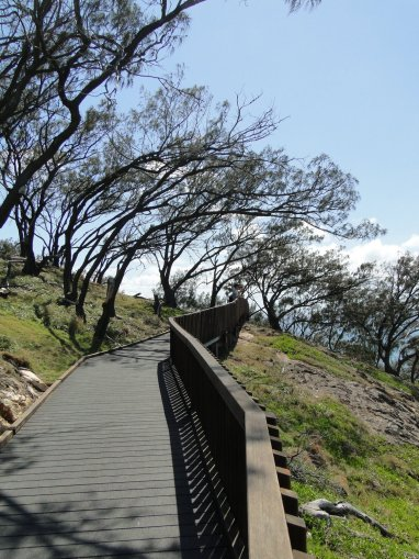 Point Lookout, pathway