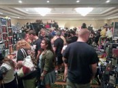 The aisles were packed
