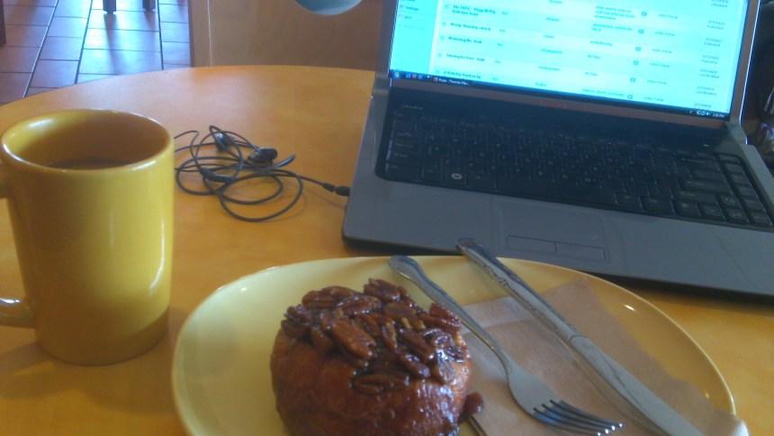 TMZ at Panera: Coffee and a Pastry