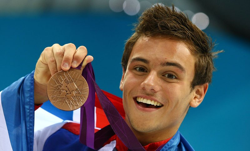 Tom Daley Olympic Medal