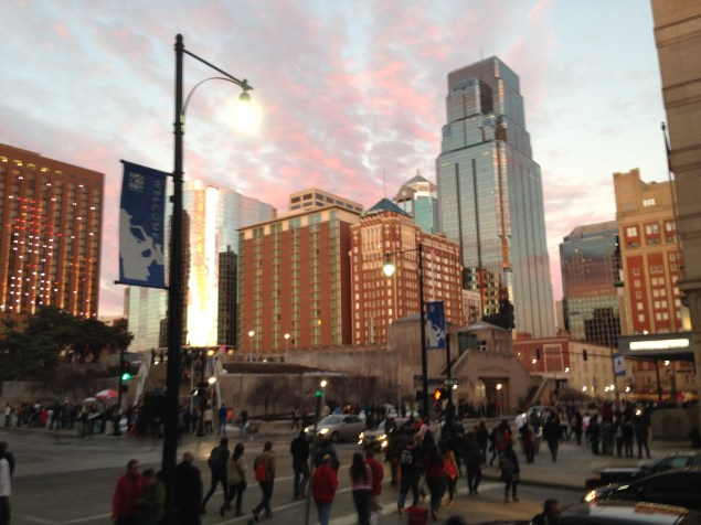 Thomas Mark Zuniga's Instagram: Kansas City Sunset