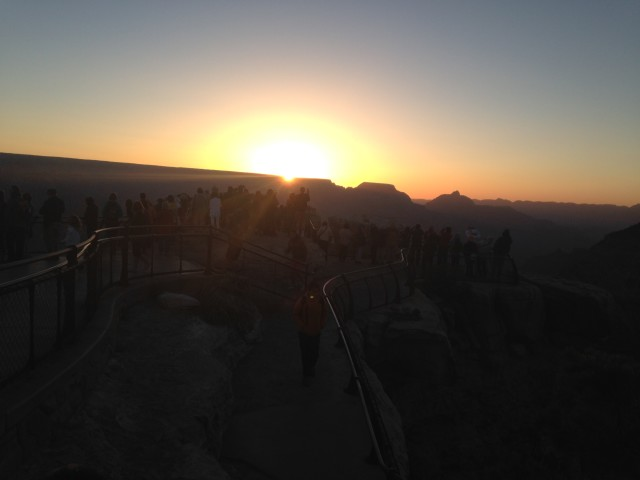 #RunningTo Grand Canyon Sunrise