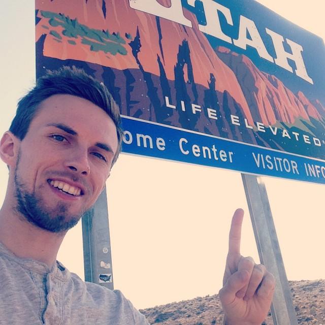 #RunningTo Utah Border