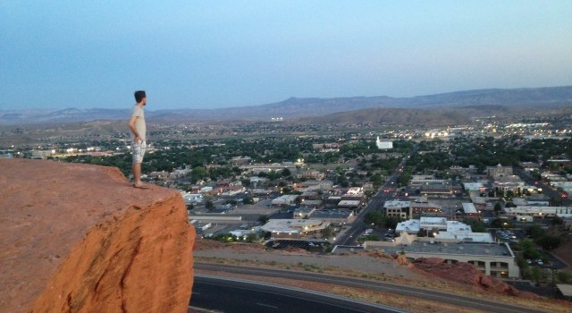 #RunningTo Dixie Rock St George Utah