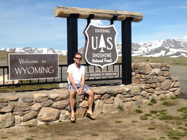 #RunningTo: Wyoming Border