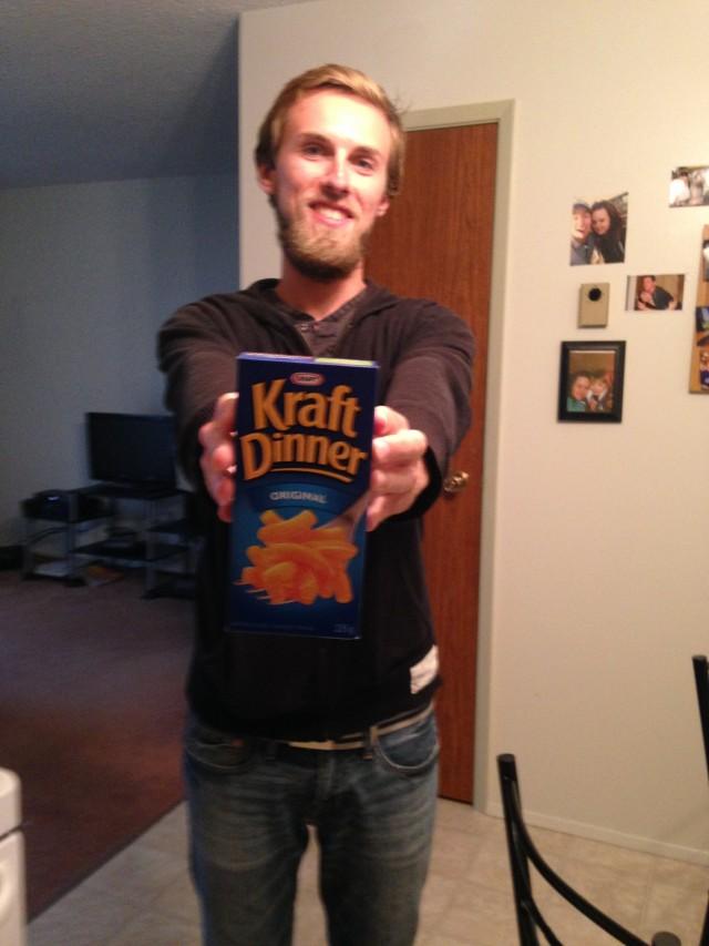 #RunningTo: Kraft Dinner