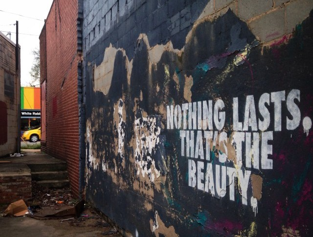 Nothing Lasts. That's the Beauty. Charlotte, NC