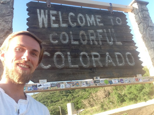 #RunningTo: COLORADO sign