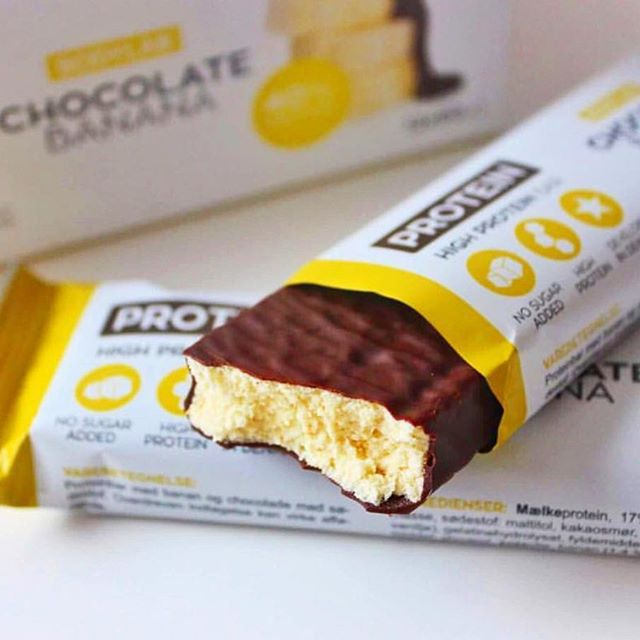 Produktanmeldelse: Bodylab Protein Bar Chocolate Banana