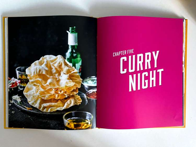 Curry night chapter from the James May Oh Cook! cookbook