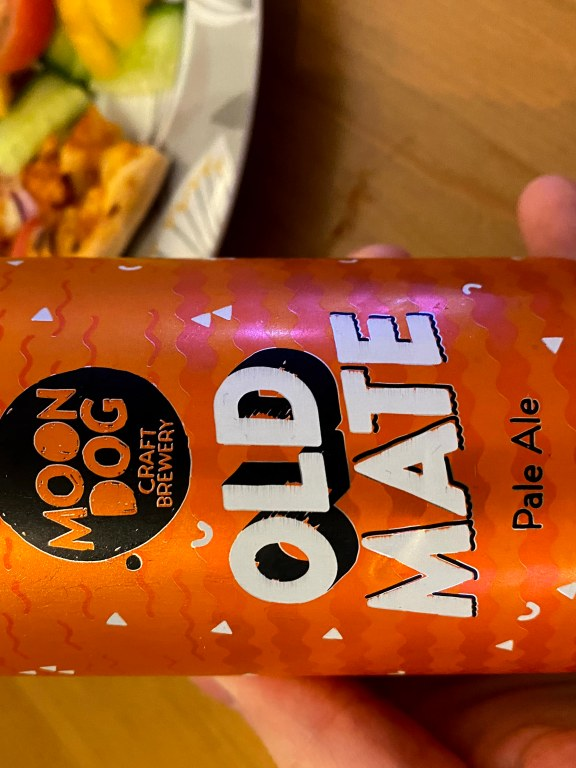 Moon Dog Craft Brewery Old Mate pale ale