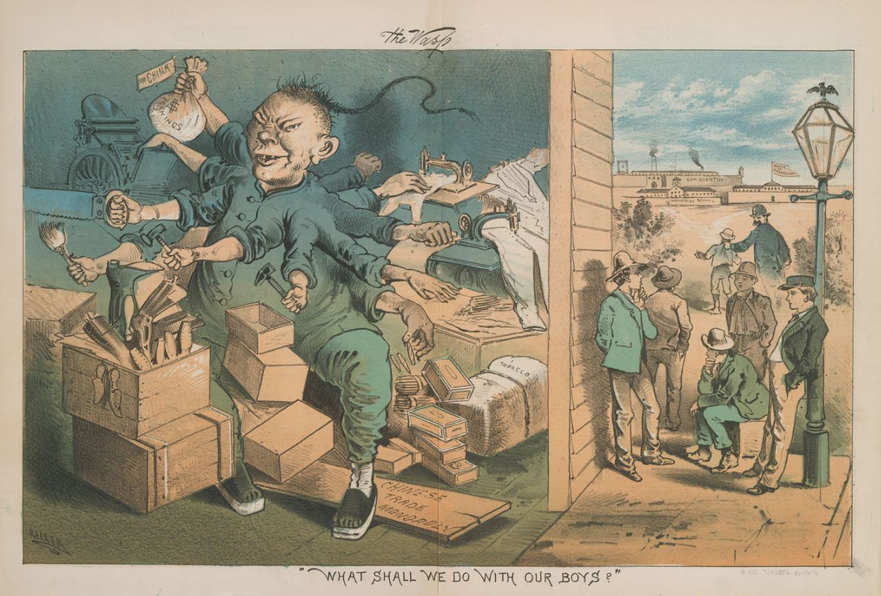January 2014 Illustrating Chinese Exclusion