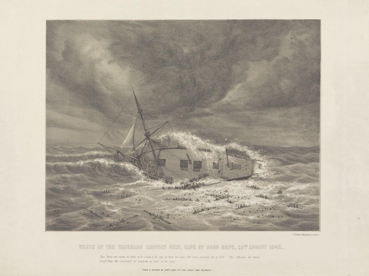 Captain Edward Goldsmith and the Waterloo 1832  Tasmanian