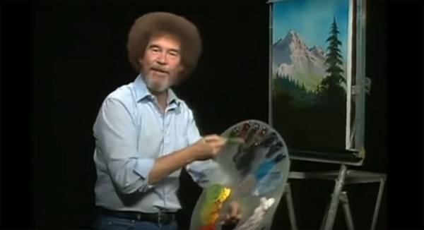 Bob Ross' Color Palette In Css Thomas Park
