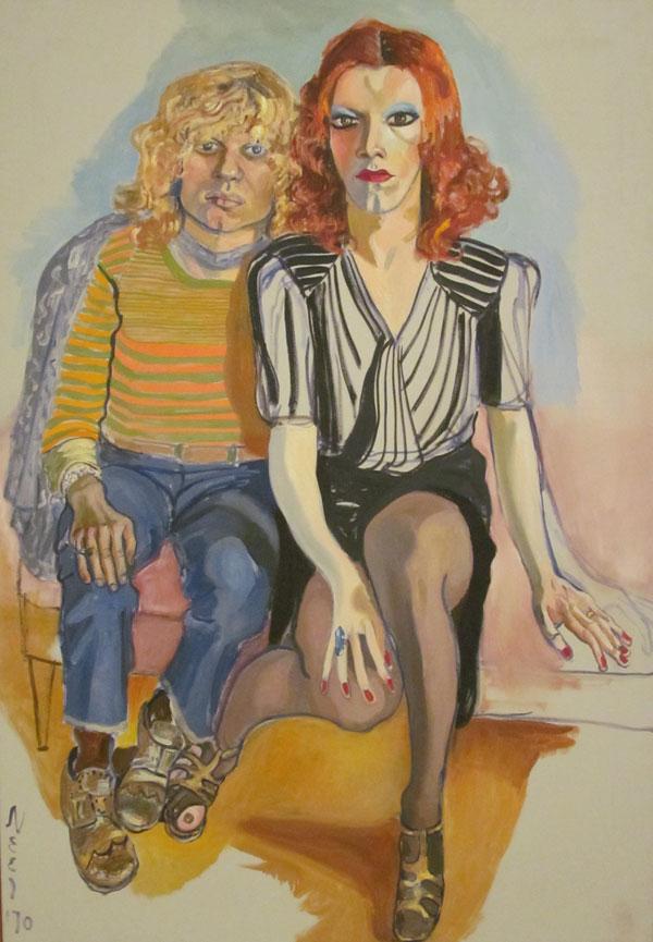 Alice Neel's Jackie Curtis and Rita Redd
