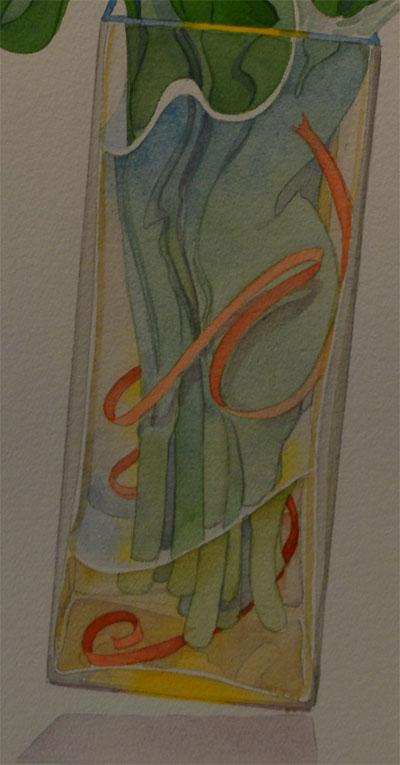 Detail of Bukovnik Watercolor