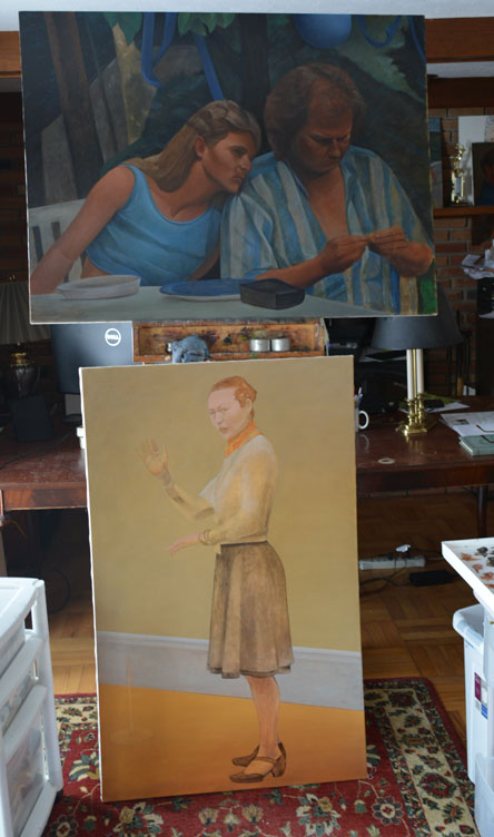 On the easel 2/26/2014