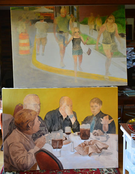On the easel 4/27/14