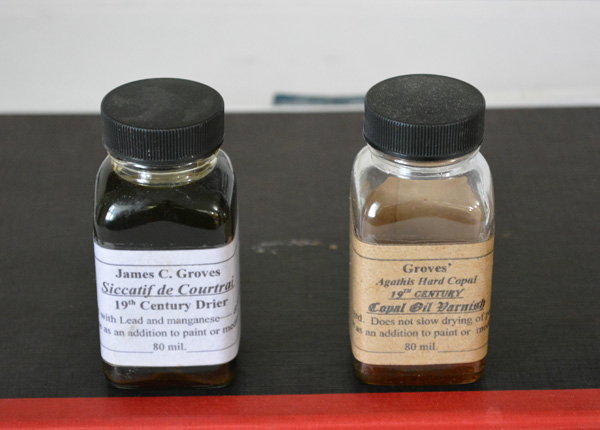 Groves' Siccatif de Courtrai and Copal Oil Varnish