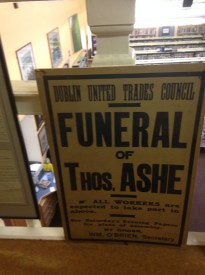 Dublin United Trades Council Funeral Notice