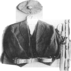 Thomas Ashe's jacket, waistcoat, cap, sword and belt from the Thomas Ashe Museum, Dingle Library