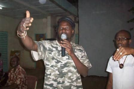 Sams'K Le Jah le grand ordonnateur de ces journées