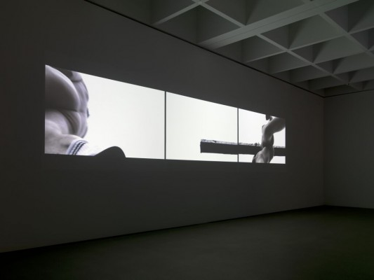 Thomas Steffl video installation