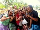 With my students from Papa'aroa College, Rarotonga, Cook Islands
