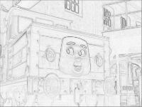 Thomas Trackmaster Stafford: The Battery Electric Shunting