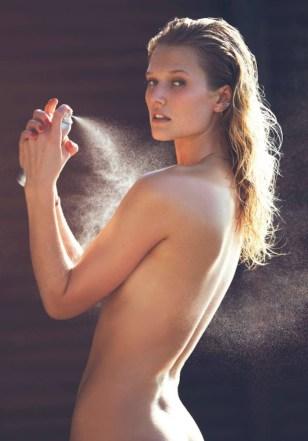 Toni Garrn by David Bellemere   Elle France June 2016