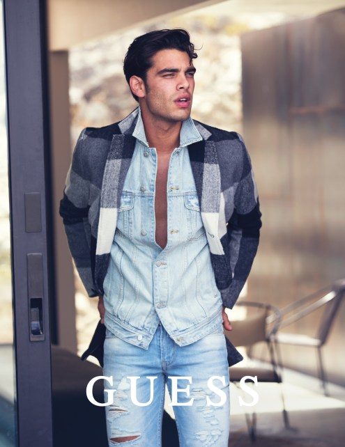 Guess Jeans Holiday 2016 Photography by DAVID BELLEMERE with Stefano Sala