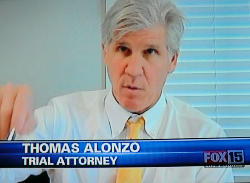 Trial attorney Thomas Alonzo on Fox15