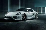 Porsche Cayman TechArt Le célèbre préparateur allemand apprécie les Porsche, à l'instar de ce Cayman de 1ère génération au kit carrosserie évocateur.