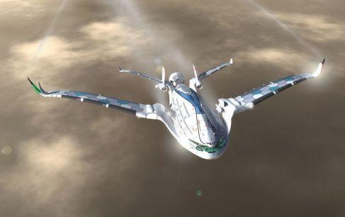 Une énorme capacité Dans sa configuration de base, le Progress Eagle pourrait emmener 800 personnes, contre un peu moins de 600 pour l'A380.