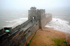 L'endroit où la Grande Muraille de Chine prend fin