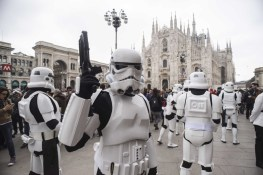 Star Wars Day parade in Milan