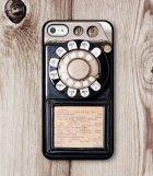 Coque façon vieux téléphone