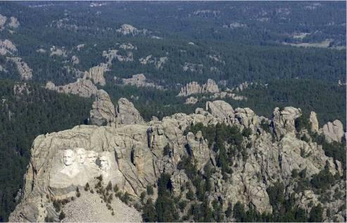 8. Le Mont Rushmore
