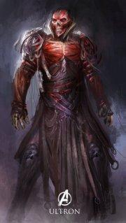 Cet Ultron a des airs de Red Skull