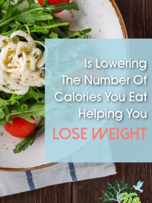 Is Lowering the number of calories you eat helping you lose weight?