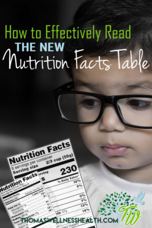 How to Effectively Read THE NEW Nutrition Facts Table