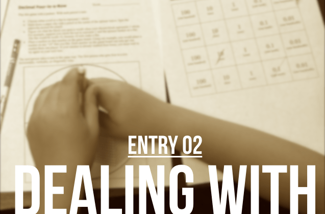 Entry 2 – Dealing With Inappropriate Moments In Class