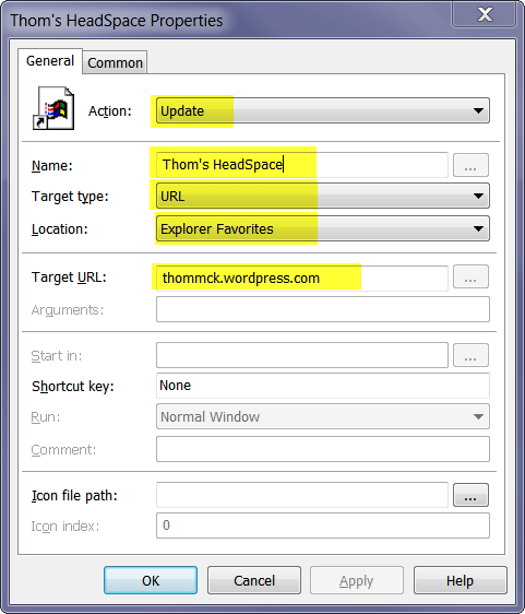 Using Group Policy Preferences to deploy Favorites to Internet Explorer (2/2)